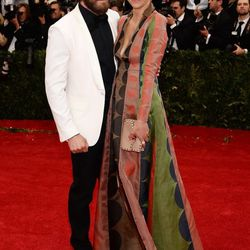 Jake Gyllenhaal and Maggie Gyllenhaal in Valentino