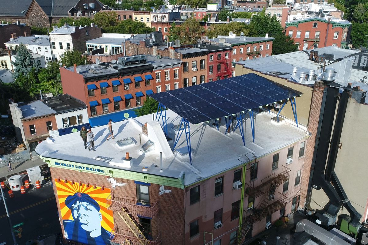 Brooklyn Solar Company Sees Canopies As Way For City To Go