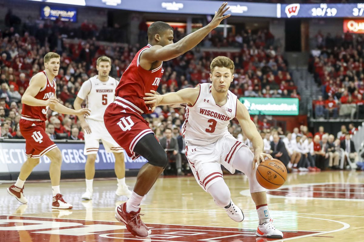 COLLEGE BASKETBALL: JAN 02 Indiana at Wisconsin