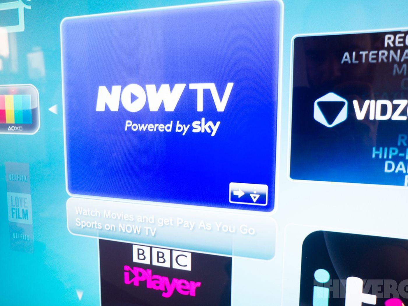 Sky S Now Tv Streaming Service Comes To Ps3 Almost A Year After Xbox The Verge