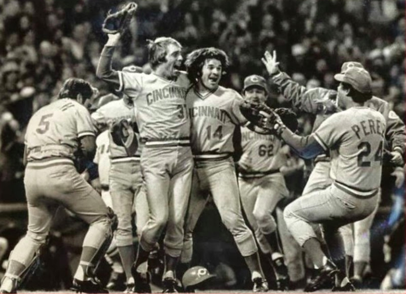 <em>The Big Red Machine of Johnny Bench (5), Pete Rose (14) and Tony Perez (24) was the last National League team to repeat as World Series champion (1975-76).</em>