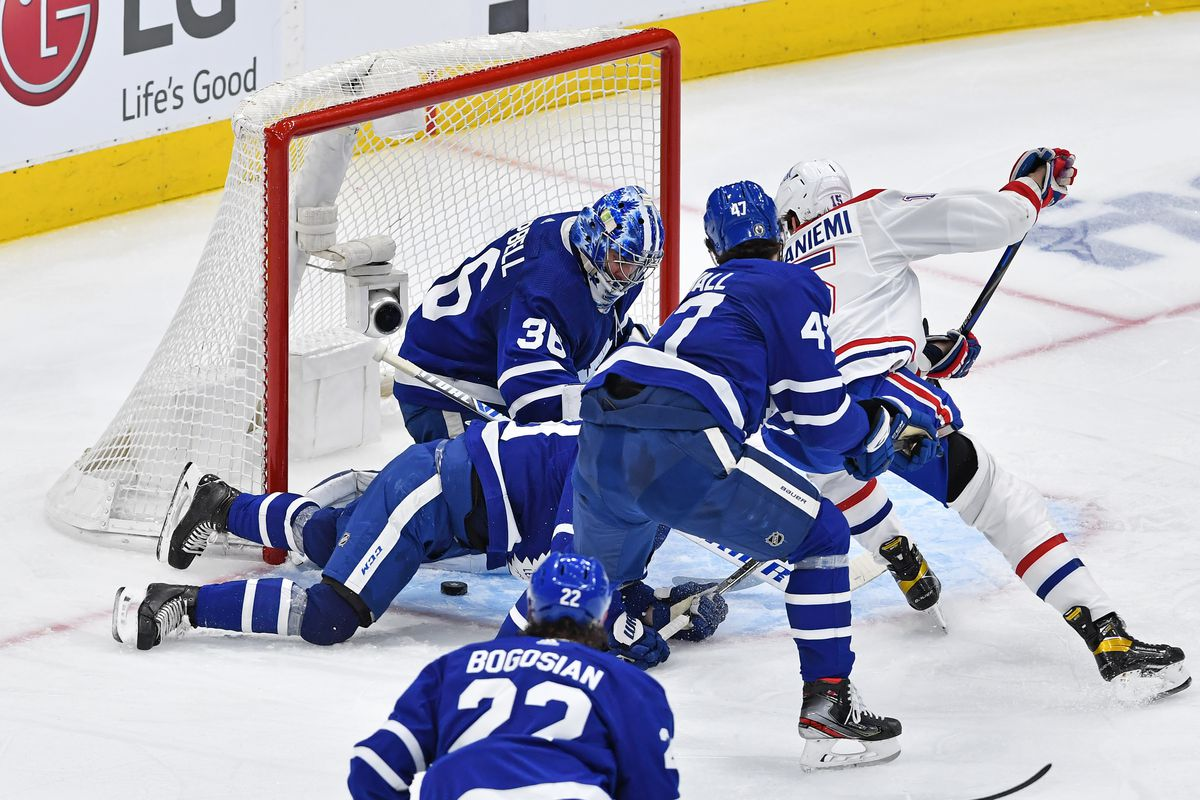 NHL: MAY 27 Stanley Cup Playoffs First Round - Canadiens at Maple Leafs