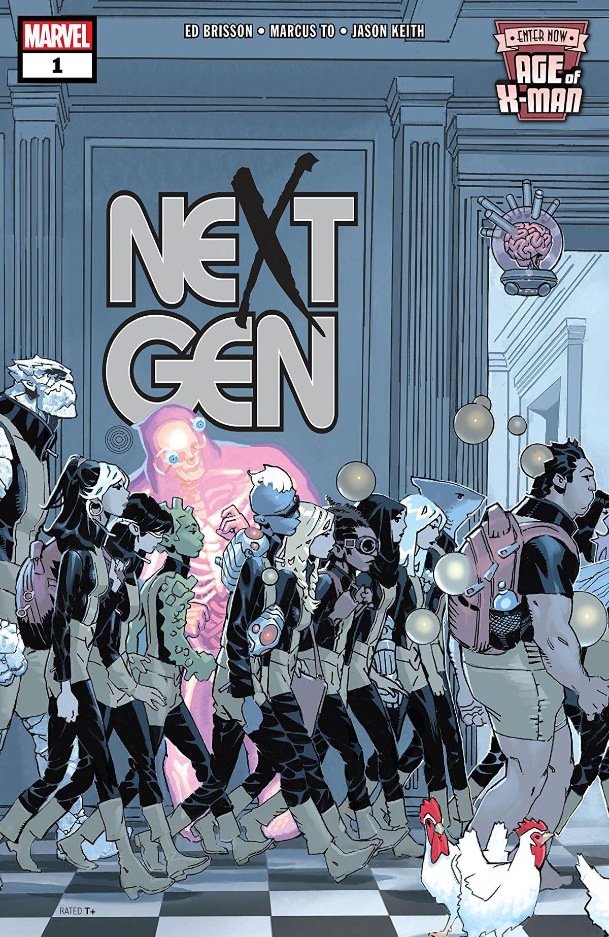 X-Man的时代是一个史诗般的漫威事件,讲述当X战警最终获胜时会发生什么