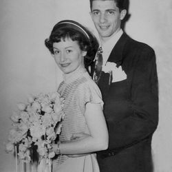 Marty and Mary Ellen Klein on their wedding day – April 2, 1949.