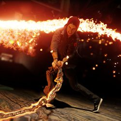 The PS4 is a next-gen camera in 'Infamous: Second Son' - The