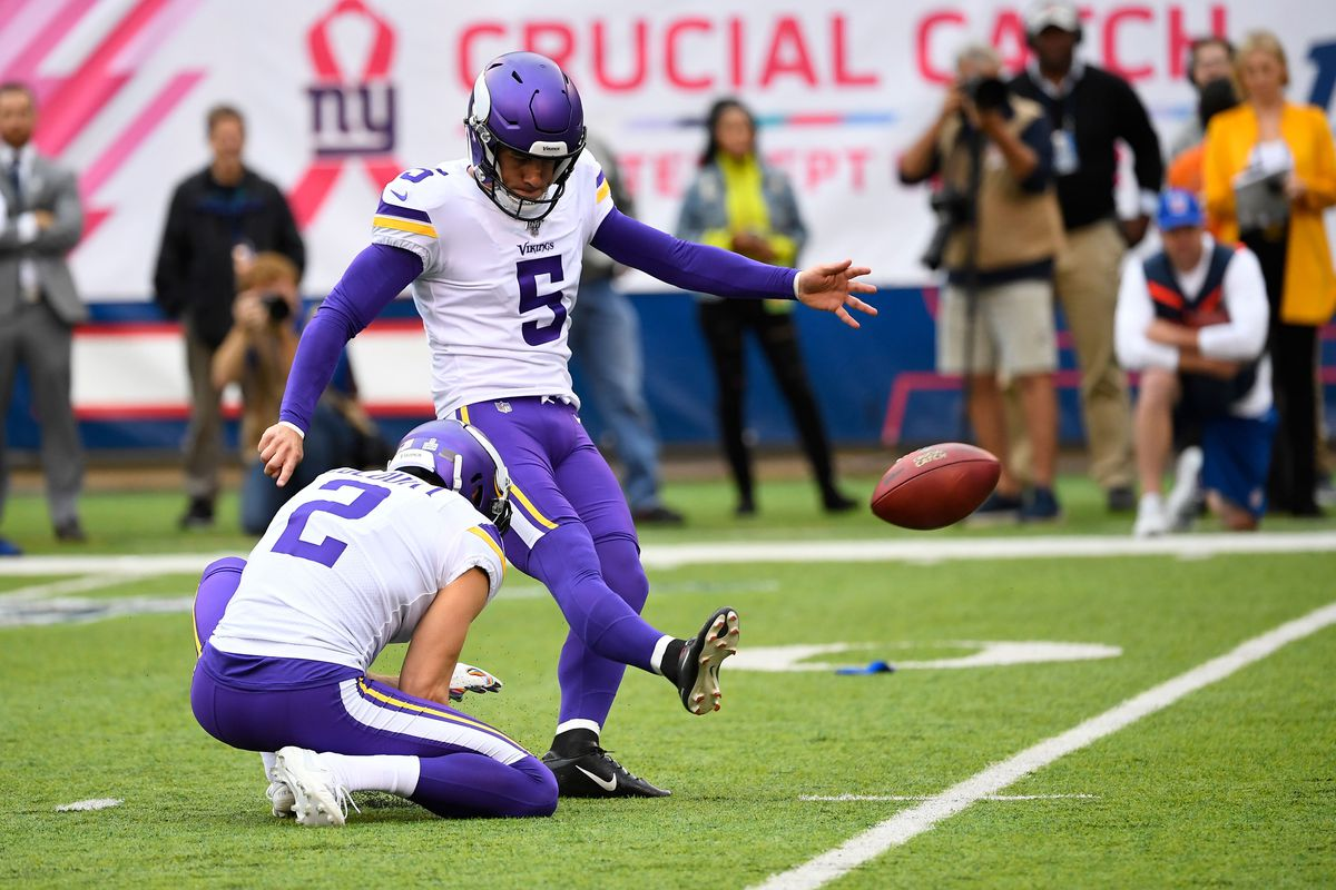 NFL: Minnesota Vikings at New York Giants