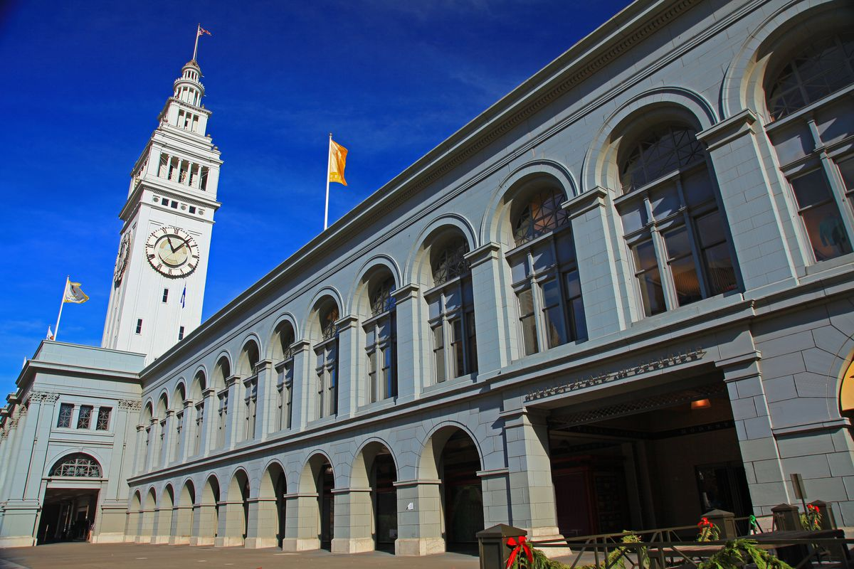 San Francisco Ferry Building To Undergo Renovation Curbed Sf