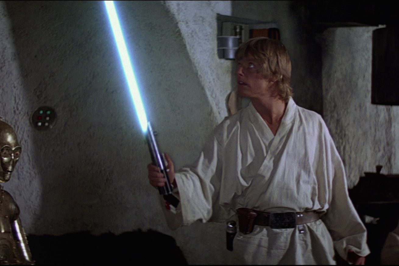 <em>The weapon first appeared in 1977's Star Wars.</em>