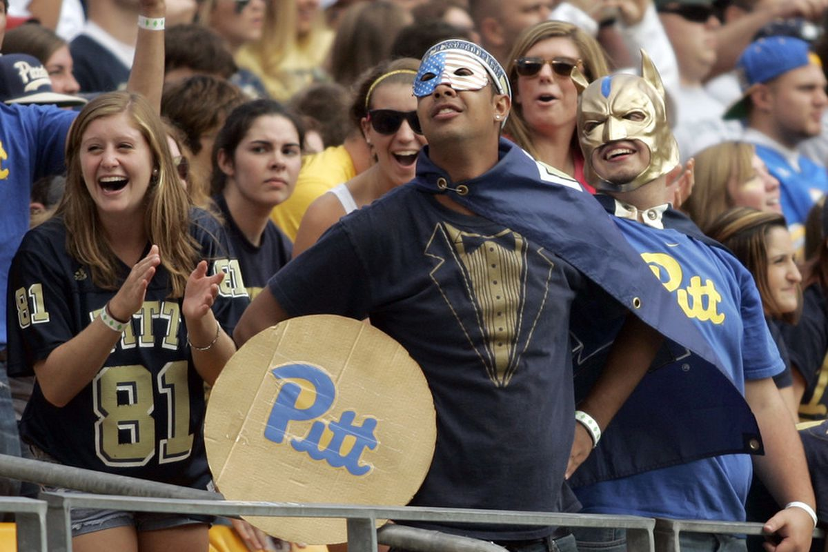 Pitt fans are super cool, you guys.