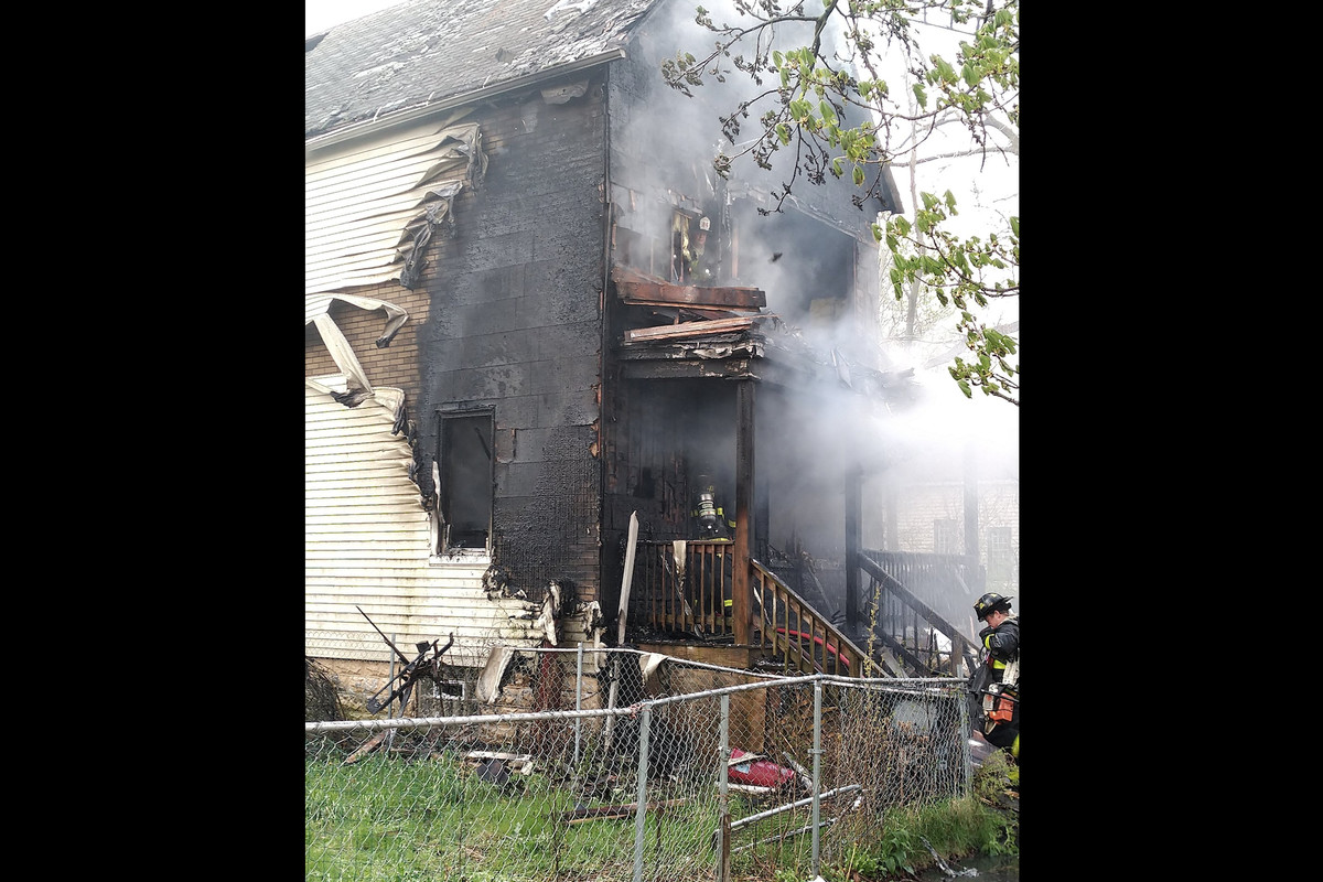 Fire crews responded to a fire May 4, 2020, in the 11900 block of South Indiana Avenue.