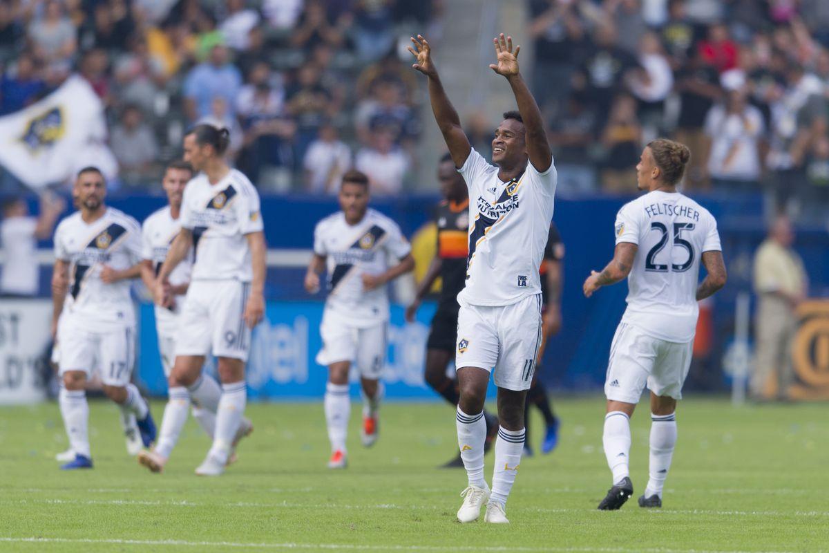 MLS: Houston Dynamo at Los Angeles Galaxy