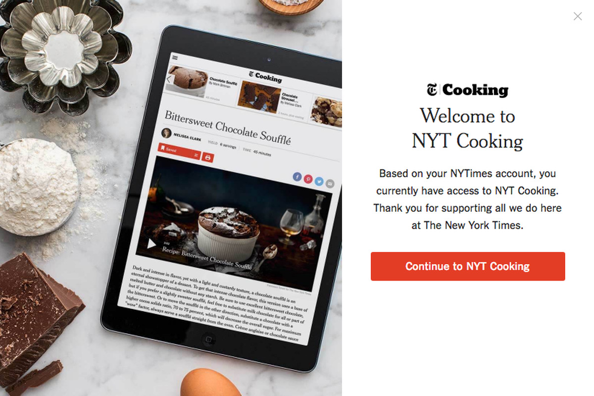 Ny times puts cooking behind a paywall eater nytimes cooking app forumfinder Image collections