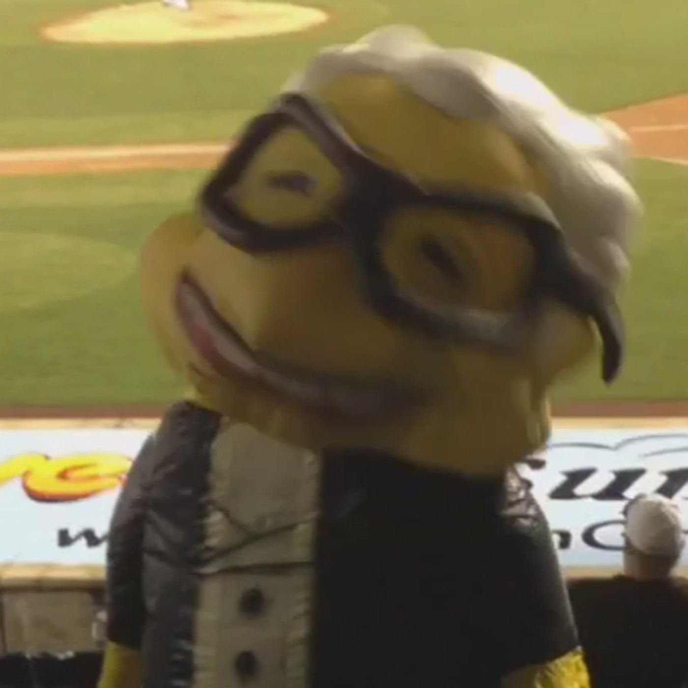 This Inflatable Harry Caray Mascot Is Terrifying Sbnation Com