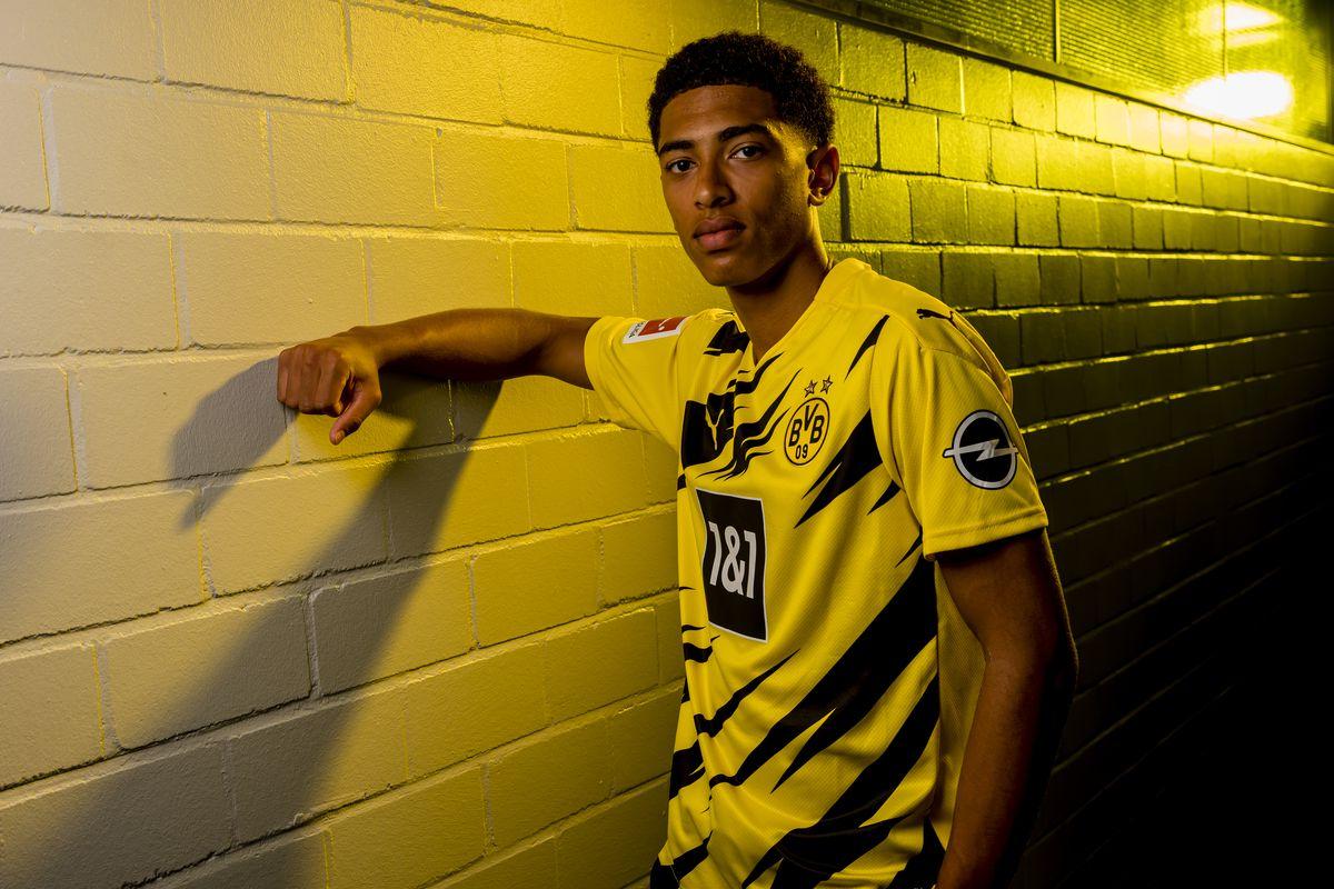 Borussia Dortmund Unveils New Signing Jude Bellingham
