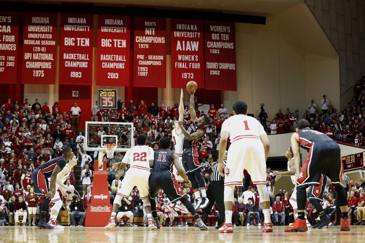 When I say B1G basketball you think of Indiana...and Rutgers, right?