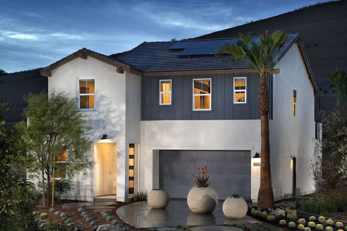 A New Model Home In The Weston Development Master Planned Community Santee California Pardee Homes