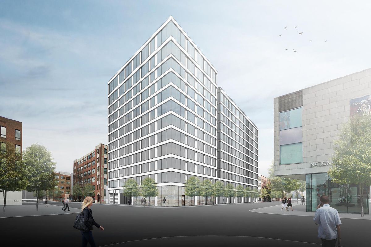 12 Story Mixed Use Development Ready To Rise At Halsted And Van Buren