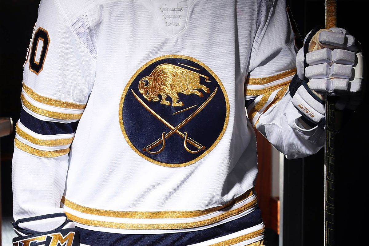 big sale d29ed 0fc78 Buffalo Sabres unveil their 50th anniversary jerseys - Die ...