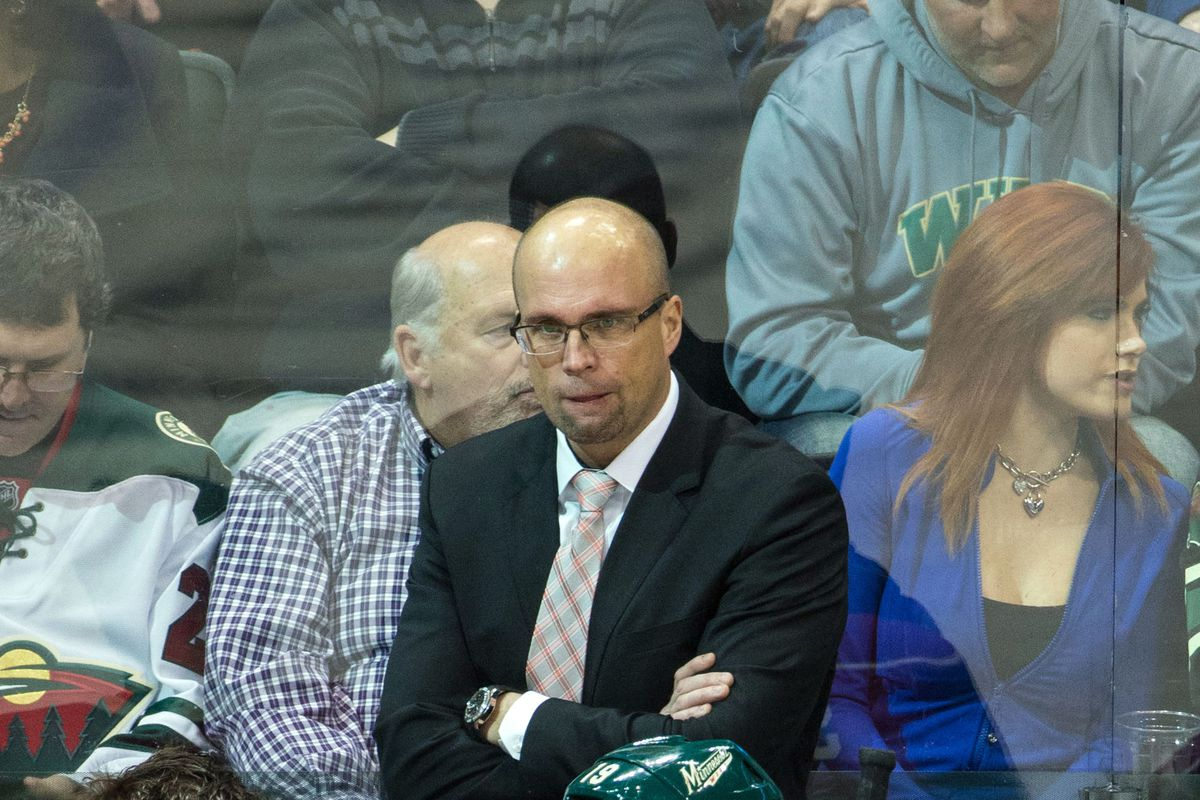 There's not a lot for Mike Yeo to be happy about these days, but are some of the Wild's current struggles on him?