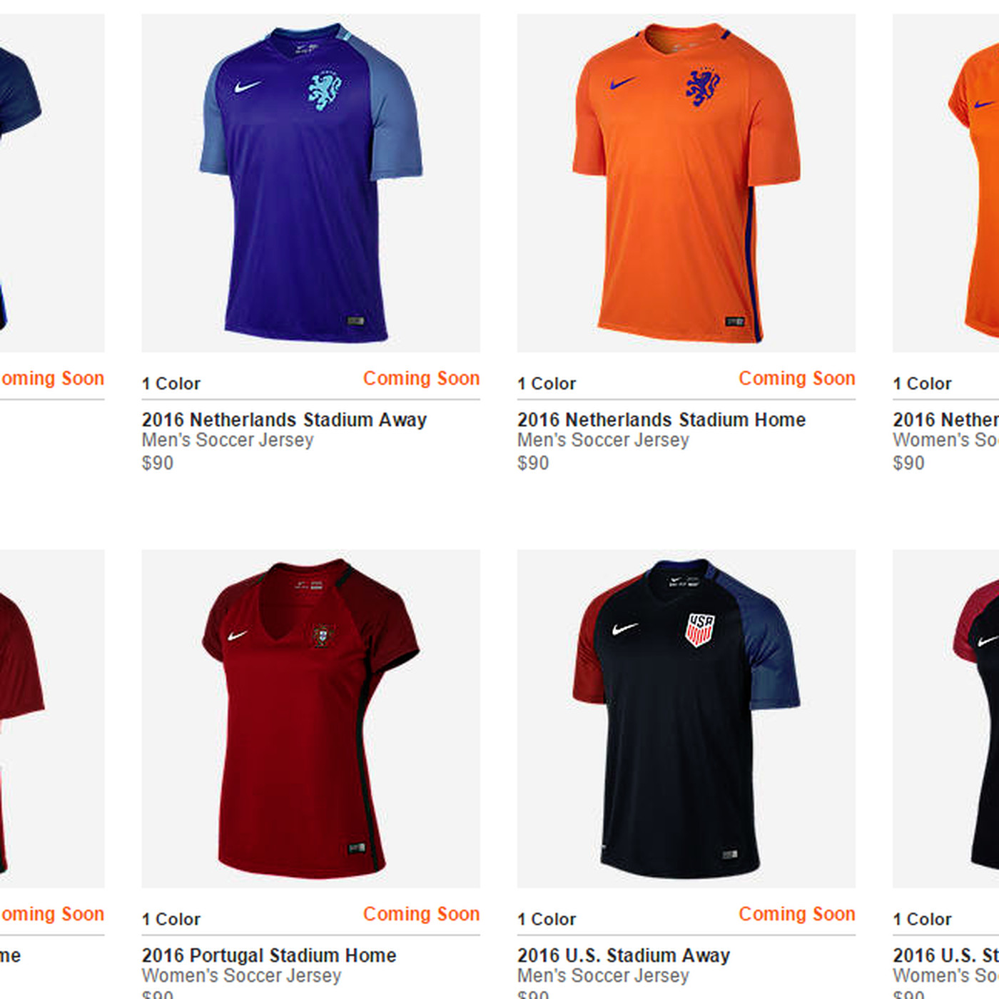 save off b2bda 360f1 Nike Soccer thinks women's jerseys need to show more skin ...