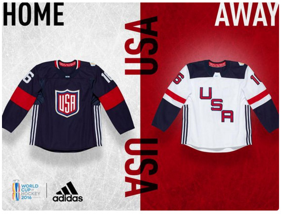 team usa world cup of hockey jersey