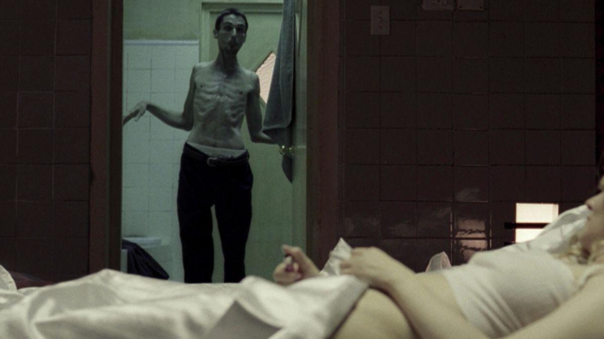 Christian Bale as Trevor Reznik in The Machinist.