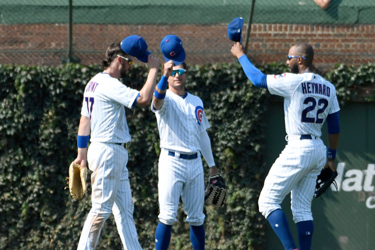 Cubs celebrate victory