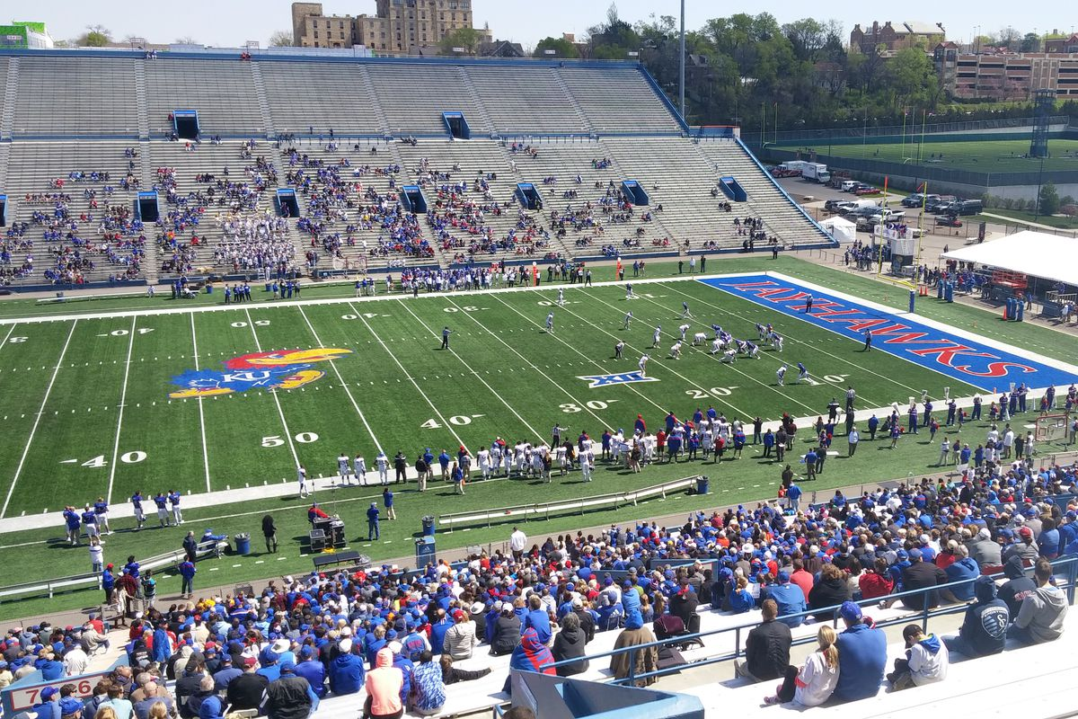 2016 Kansas Football Spring Game Recap Rock Chalk Talk