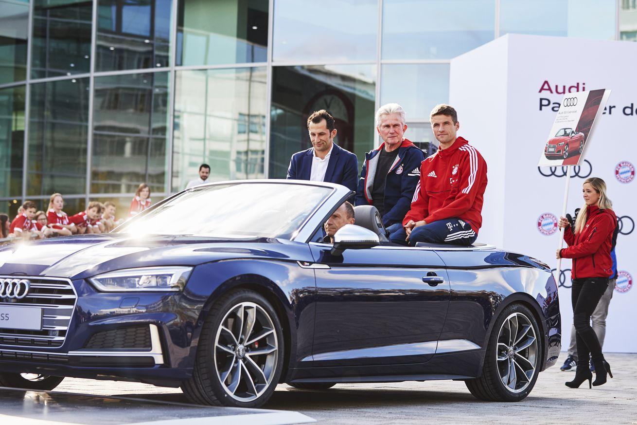 Report: BMW close to replacing Audi as Bayern Munich sponsor