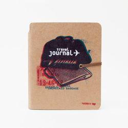"Travel journal, $18 at <a href=""http://poketo.com/shop/Travel-Journal?keyword=Travel&category_id=0&description=1 ""target=""_blank"">Poketo</a>"