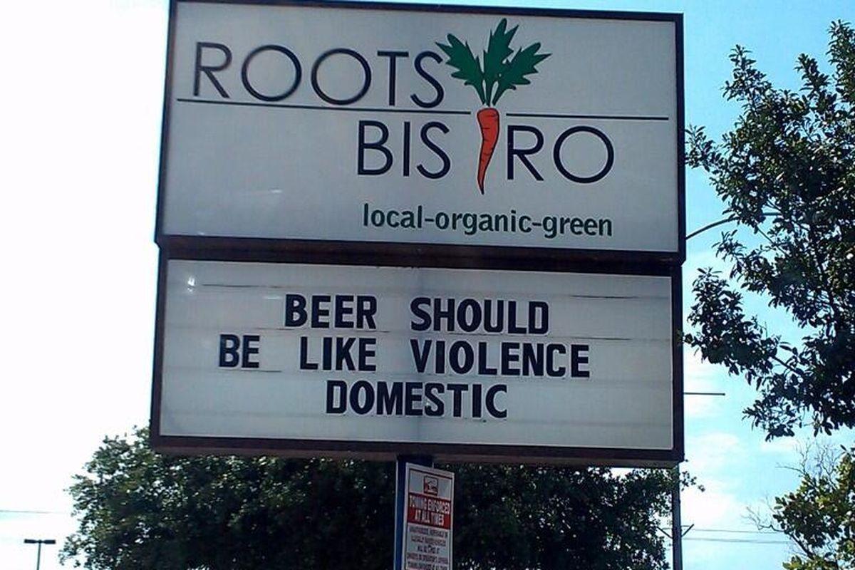 Roots Bistro, Houston.