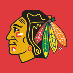 chicago blackhawks logo box