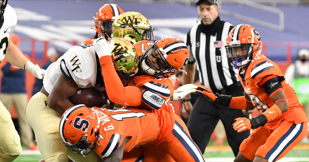 Final score: Wake Forest beats Syracuse, 38-14 - Troy ...