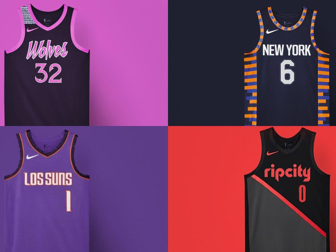 7ed919629fb Every NBA City Edition jersey