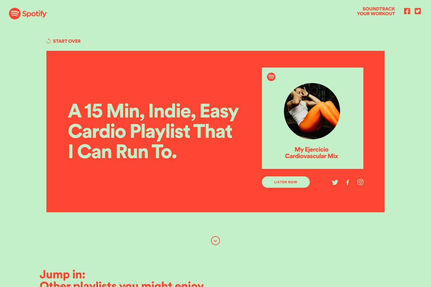 Spotify Will Now Make You A Custom Workout Playlist The Verge