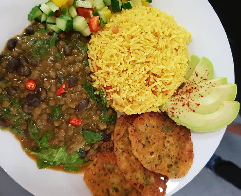 London's best Afro Vegan restaurants: Deserted Cactus in Peckham
