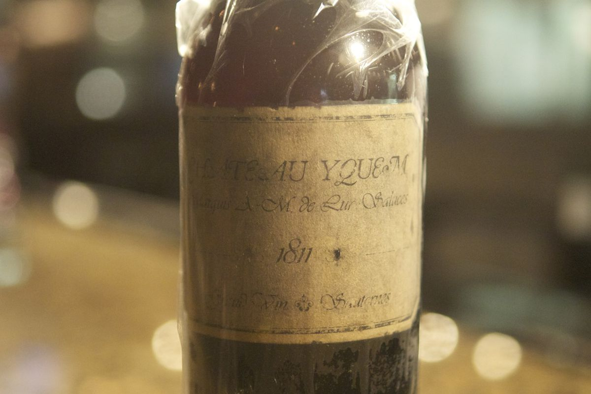 1811 Chateau d'Yquem, yours for $30,000