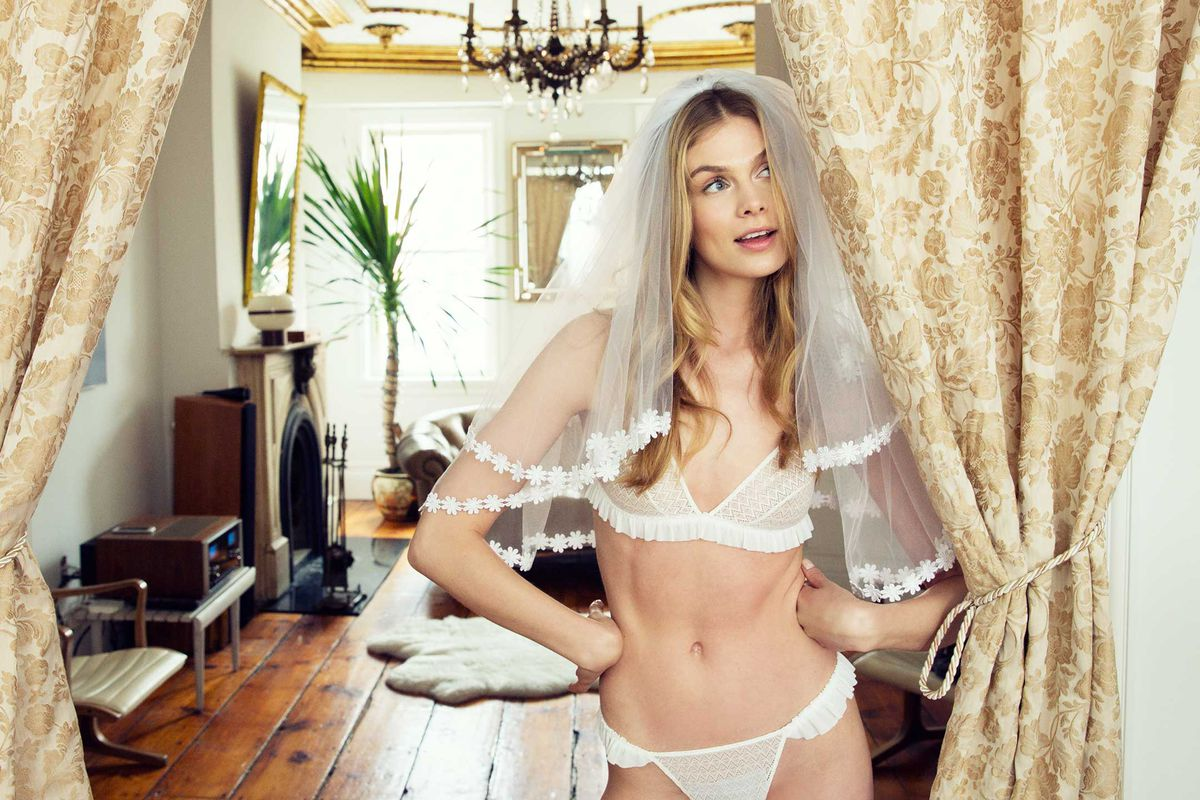 da6d4ef6b7b What to Wear Under Your Wedding Dress - Racked