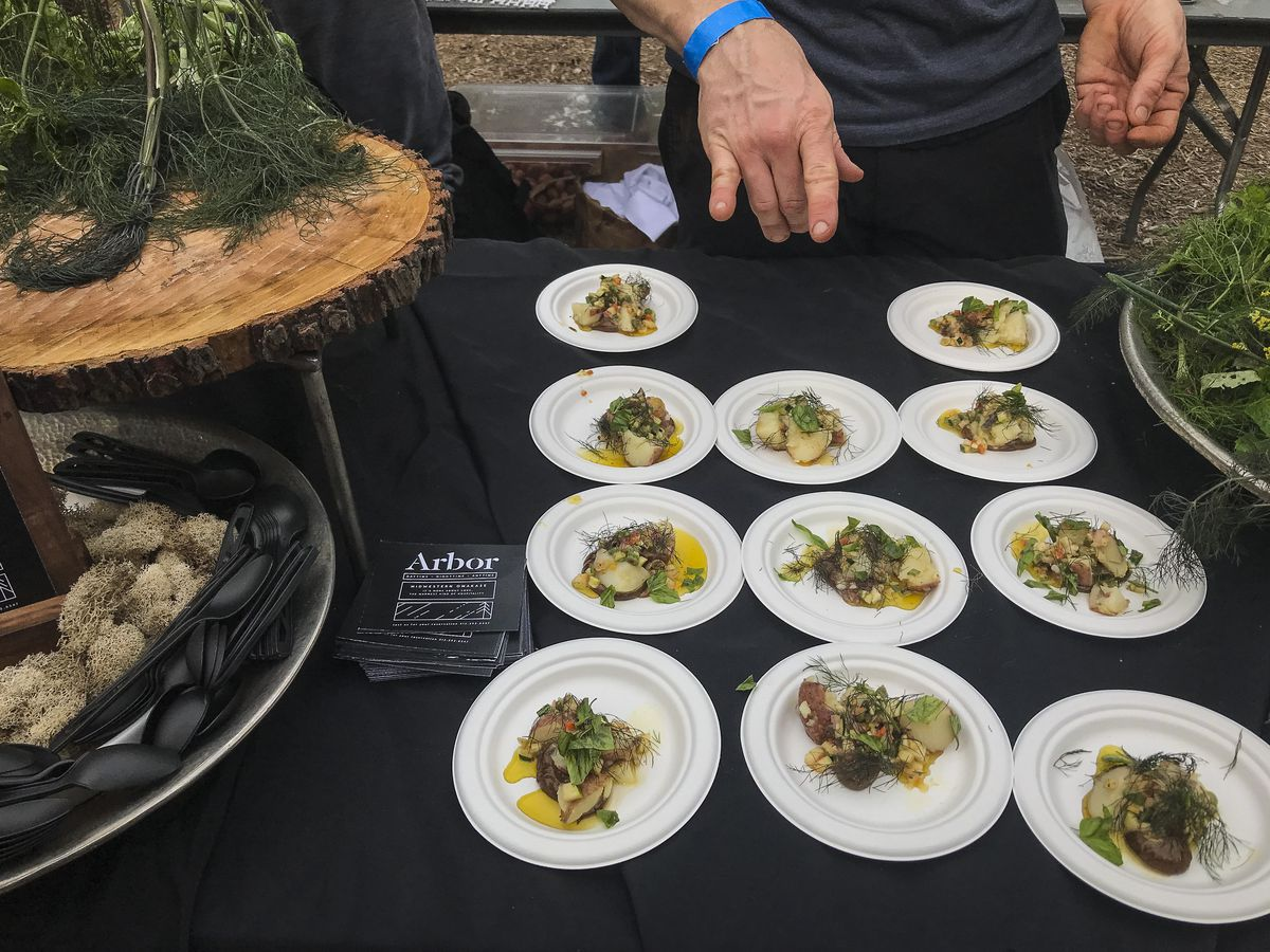 The smoked potato salad by Arbor Restaurant. | Sun-Times Staff.