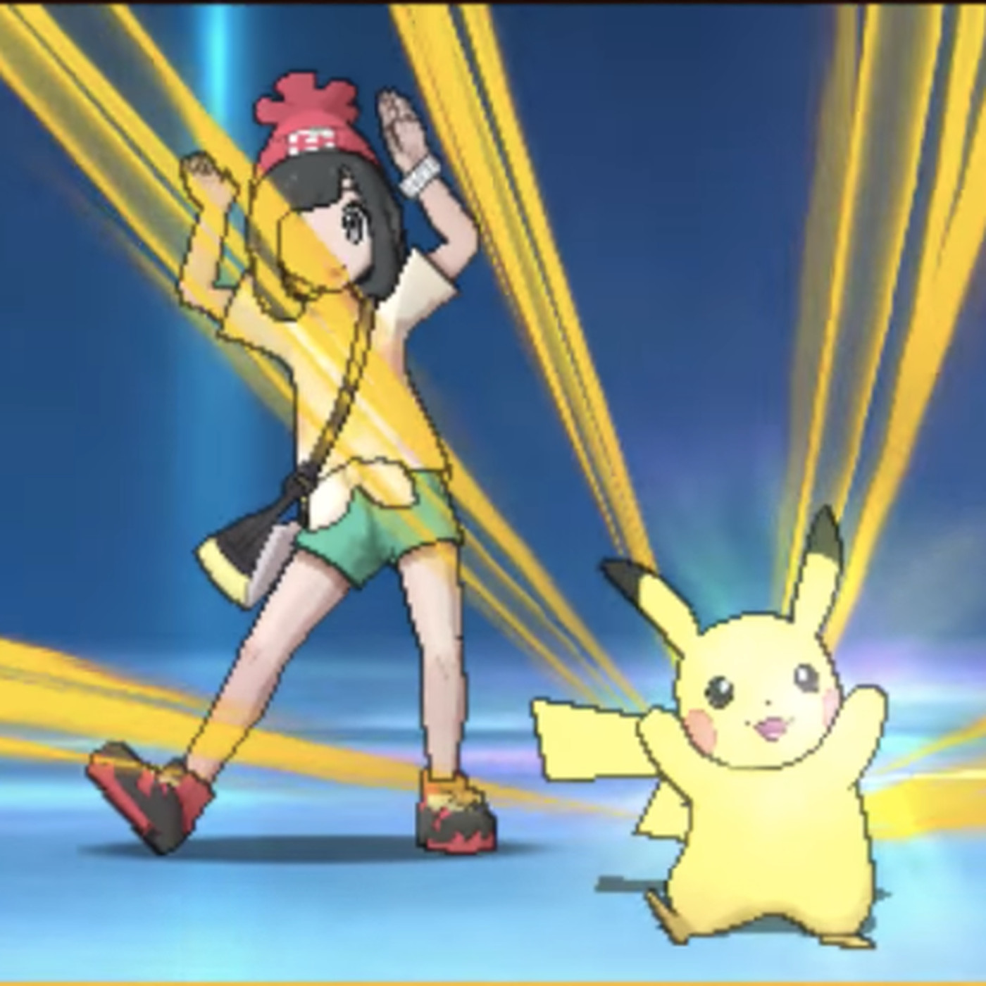 how to get a pikachu in sun and moon