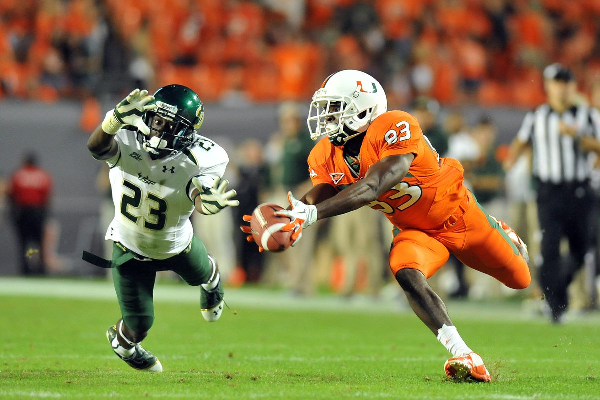 Don't worry, Kenneth Durden and the rest of the USF secondary. Help is on the way.