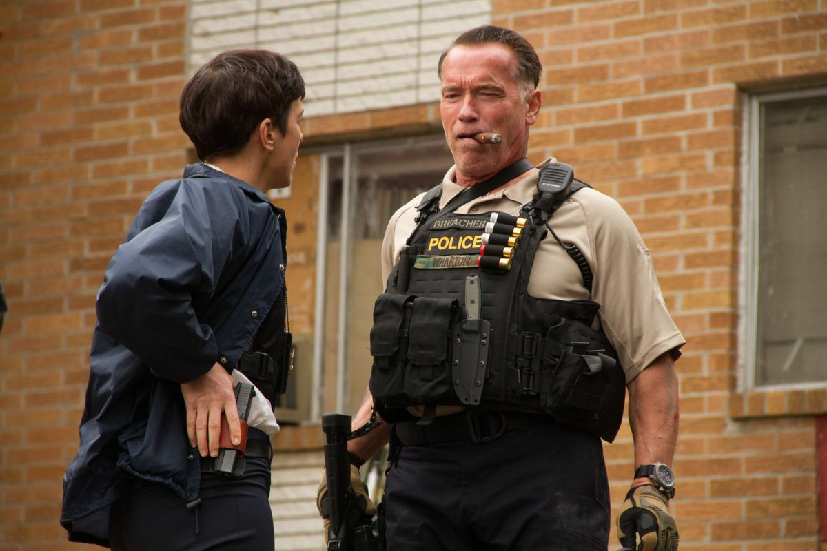 """Disclaimer: I have not seen Arnold Schwarzenegger's """"Sabotage."""" For all I know it is a taut thriller of unparalleled nuance. But Rotten Tomatoes gave it a 22."""