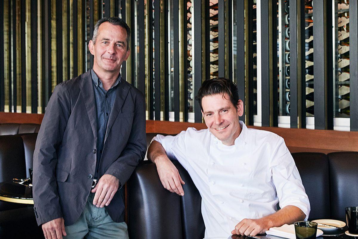 Nicolas Fanucci and chef Greg Bernhardt at Paley