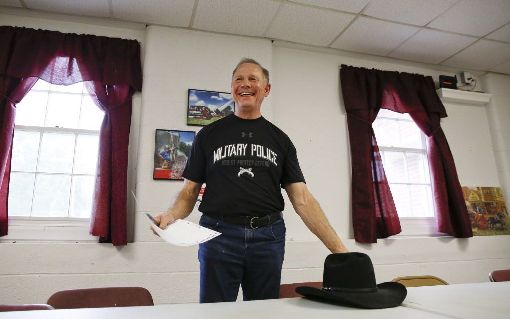 Former Alabama Chief Justice and U.S. Senate candidate Roy Moore smiles after he votes at the Gallant Volunteer Fire Department, on Tuesday, Aug. 15, 2017, in Gallant, Alabama. | Brynn Anderson/AP