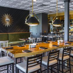 Standard & Pour's dining room