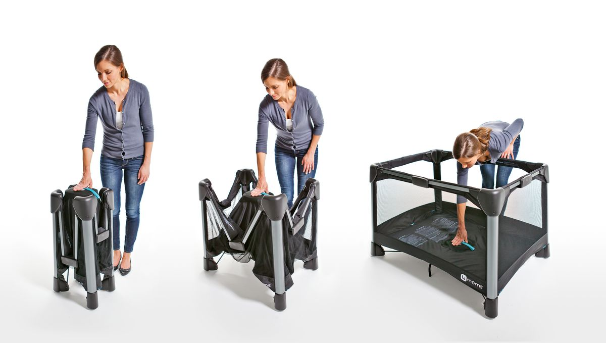 The 4moms Breeze is a cinch to set up, but costs $300.