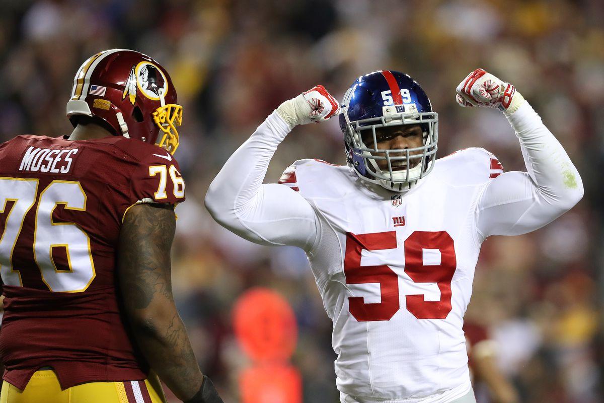 New York Giants v Washington Redskins