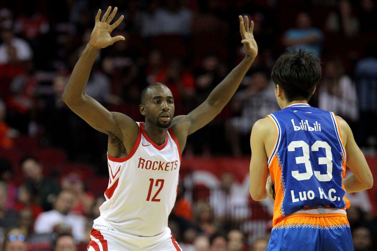 NBA: Preseason-Shanghai Sharks at Houston Rockets