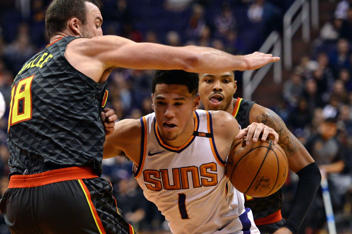 NBA: Atlanta Hawks at Phoenix Suns