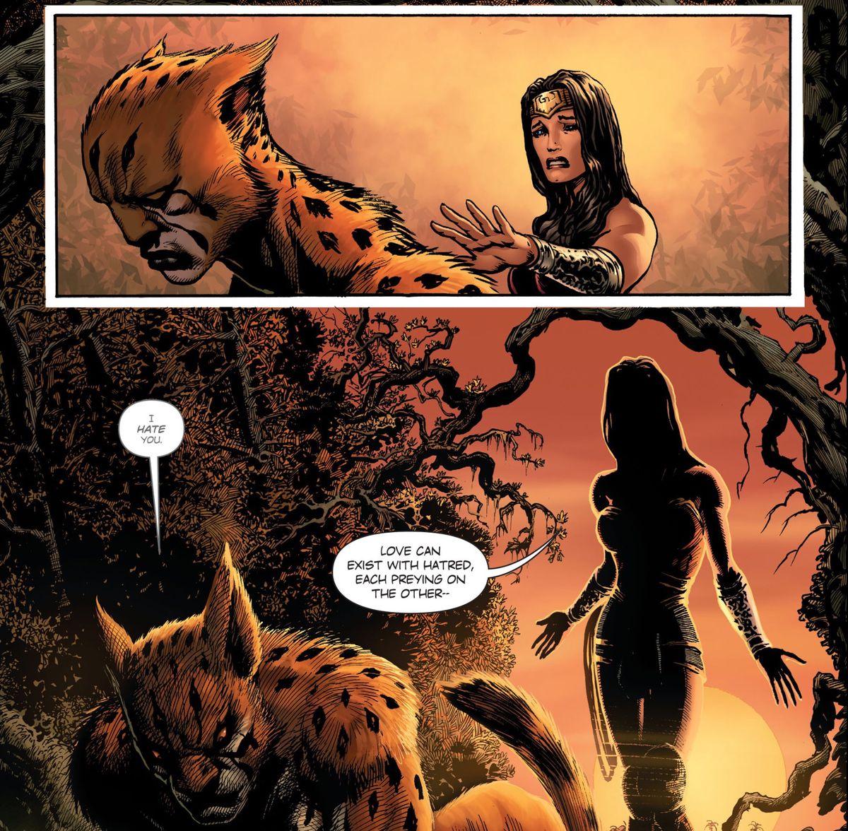 神奇女侠1984的恶棍是猎豹,这是第一眼